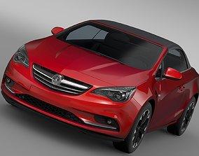 Vauxhall Cascada 2017 3D model