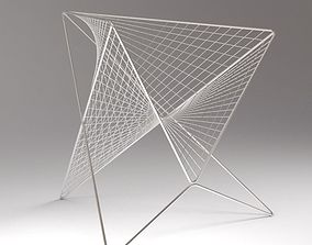 Parabola chair 3D print model