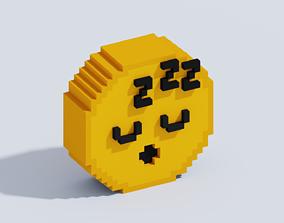 Voxel Emoji T24 3D model