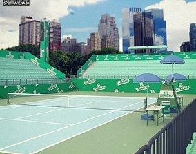Tennis Arena 3D asset