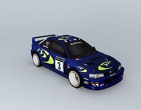 3D model Subaru Imprezza