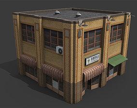 Old Drug Store 3D model