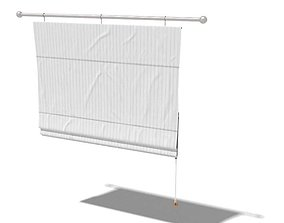 Foldable Curtains 3D
