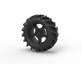 3D printable model Diecast Offroad wheel 27