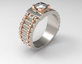rolex ring rings 3D printable model