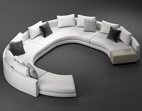 minotti daniels arrangement D 3D model