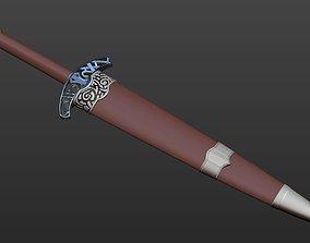 3D printable model Skyrim Steel dagger