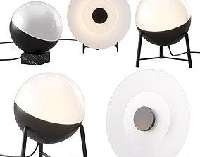 3D model Half and Halos Table Lamp by Milan Iluminacion