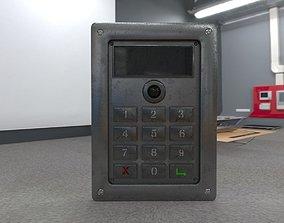 Codelock with cam 3D model
