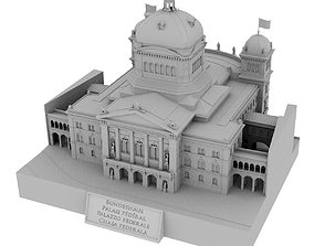 Federal Palace of Switzerland - Bundeshaus 3D print model