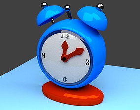 Alarm clock 3D printable model