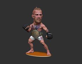 Conor McGregor notorious 3D printable model