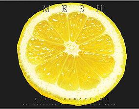 A Slice of Lemon 3D asset