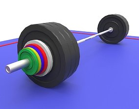 3D model Olympic Weights