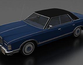 Ford LTD Landau 4dr 1975 3D asset