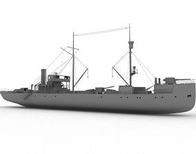 3D asset elpidifor-413 Russian ship