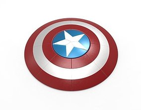 Captain America Shield 3D print model