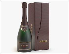 Krug Champagne 3D model