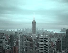 New york city building 3D model