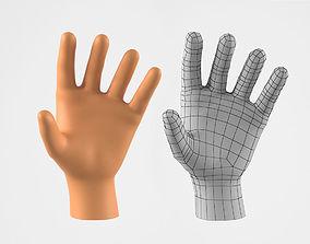 Realistic Human Hand 3D Model VR / AR ready