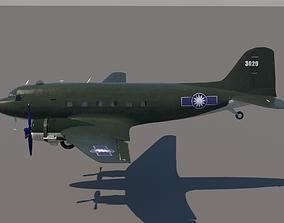 3D Douglas C-47 - 1948 Republic of China