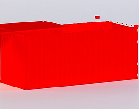 20FT CONTAINER 3D MODEL VR / AR ready