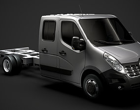 Renault Master CrewCab DW E30 Chassis 2014 3D model