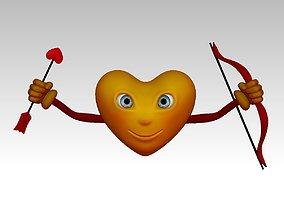 3D Print Cupidon Heart