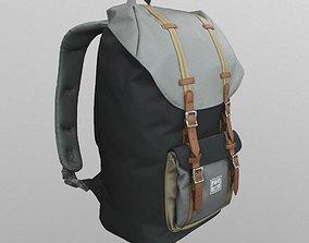 Hershel Little America backpack 3D asset