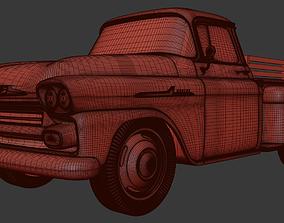 Chevrolet Apache 1958 3D print model