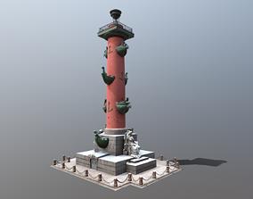 Rostral Columns PBR 4K 3D model