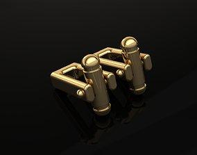 Cufflinks Lock 1 3D print model