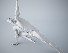3D printable model Man yoga 015
