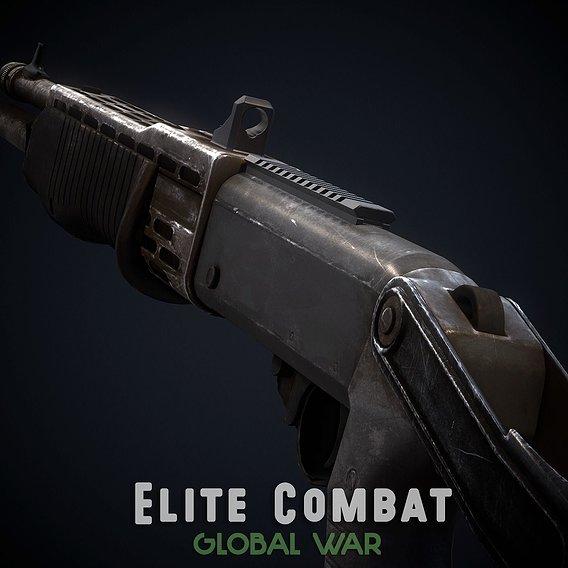 SPAS-12 - Elite Combat: Global War