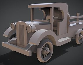 1920s TT Wood Toy Truck 3D print model