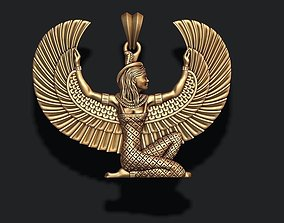 Isis pendant 3D printable model