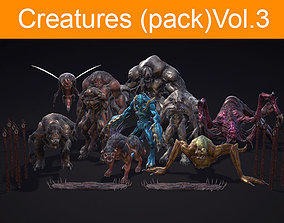 3D model Creatures pack Vol 3