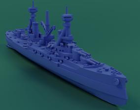 3D print model HMS Agincourt 1913