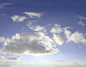 3D Skydome HDRI - Day Clouds III