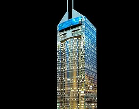 Skyscraper exterior 3D