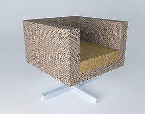 3D model revolving chair