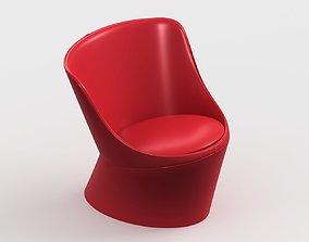 armchair modern 81 3D model
