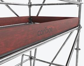 Scafolding-2 Low-poly 3D asset