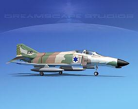 3D model McDonnell Douglas F-4J Phantom II V23 IDF