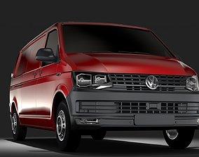 Volkswagen Transporter Van L2H1 T6 2017 3D model
