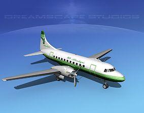 Convair CV-340 Air Atlantique 3D