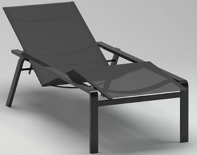 Royal Botania Alura 195 Lounger Chaise 3D