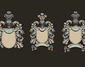 3D print model Medieval Blazers Set Exchangeable parts 2