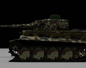 3D model realtime Military Tank