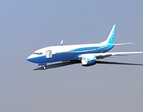 3D asset Boeing 737-800
